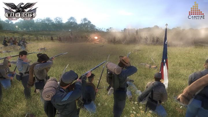 """史実に基づいた""""リアル""""な南北戦争を舞台とする、数百人対戦の新作FPS『War of Rights』"""