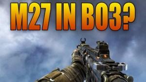 """アサルトライフル""""M27""""が『CoD:BO3』で復活?"""