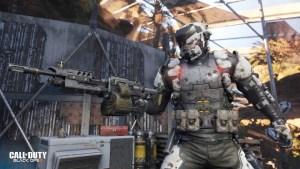 """CoD:BO3:新マップでキャラクター""""Warlord""""発見、10人目のスペシャリスト?と噂に"""