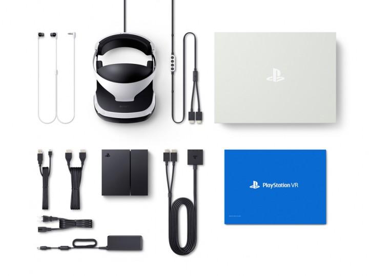 PS VR 同梱物一覧