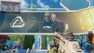 『CoD:BO3』のNuk3townへ、『CoD:IW』のものと思われるポスターと謎の人物登場