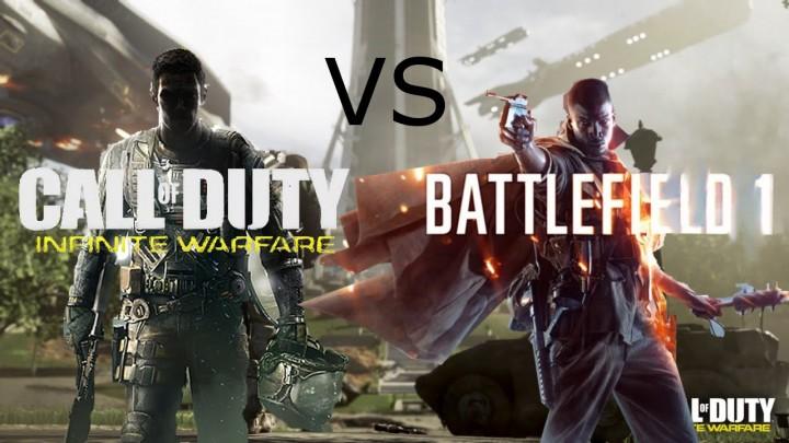 『CoD:IW』 vs 『BF1』:お披露目トレイラー対決を制したのは・・・