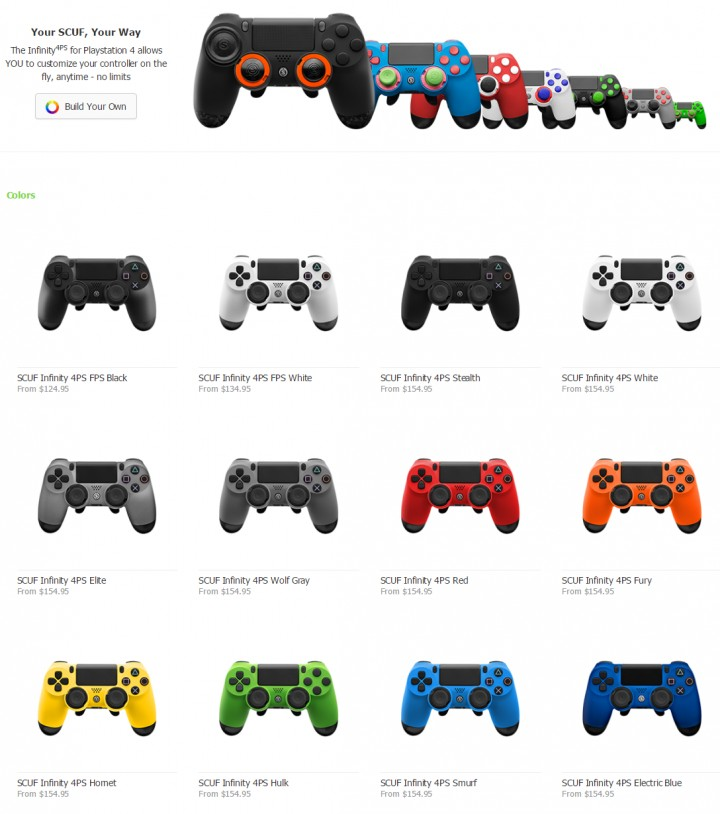 SCUF Infinity 4PS FPS-17