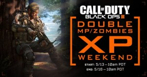 CoD:BO3:ダブルXPイベントが5月14日午前2時から開催