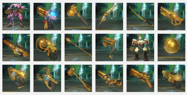 オーバーウォッチ:ランクマッチ報酬の金色武器「ゴールデン・ガン」の映像と画像(26枚)