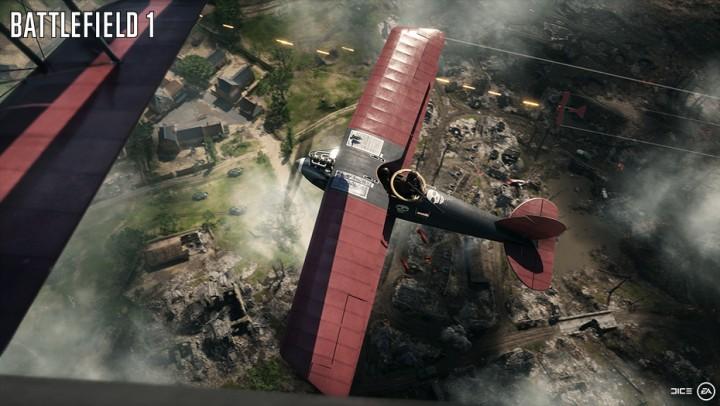 BF1:飛行機は爆撃機や戦闘機から自由に選択可能