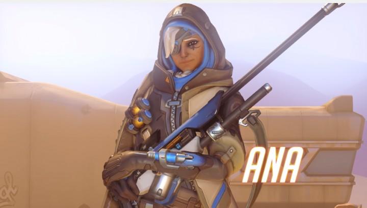 オーバーウォッチ:新ヒーロー「アナ・アマリ(Ana Amari)」正式発表、映像も公開