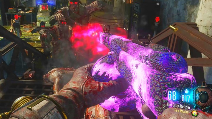 "CoD:BO3:第3弾DLC「Descent」のゾンビマップ""Gorod Krovi""での武器改造方法"