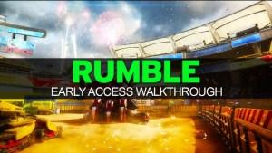 "CoD:BO3:2レーン構造の新マップ""Rumble""の先行プレイ動画が続々公開"
