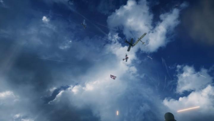 美しい空中戦