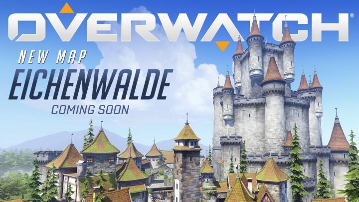 オーバーウォッチ:ドイツの古城が舞台の新マップ 「Eichenwalde」 発表、プレビュー映像も