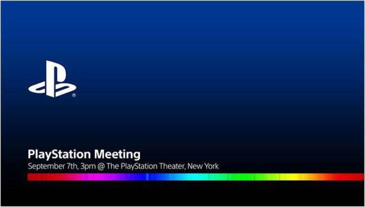 新型PS4:「PlayStation Neo」は9月8日に正式発表、関係者へ招待状