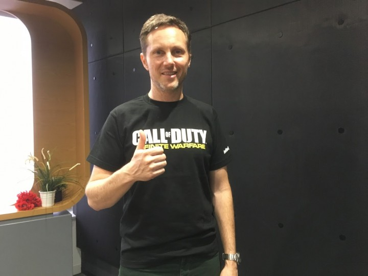 Infinity WardのNarrative Director、Taylor Kurosaki氏に『Call of Duty: Infinite Warfare(コールオブデューティ: インフィニット・ウォーフェア)』