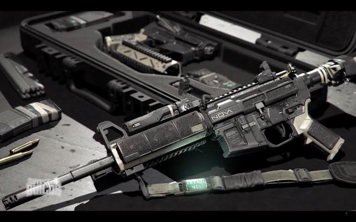 CoD:IW: ゲーム内武器とヘルメットをリアルで製造する映像登場、「射撃場」採用や「メニュー画面」もチラ見せ