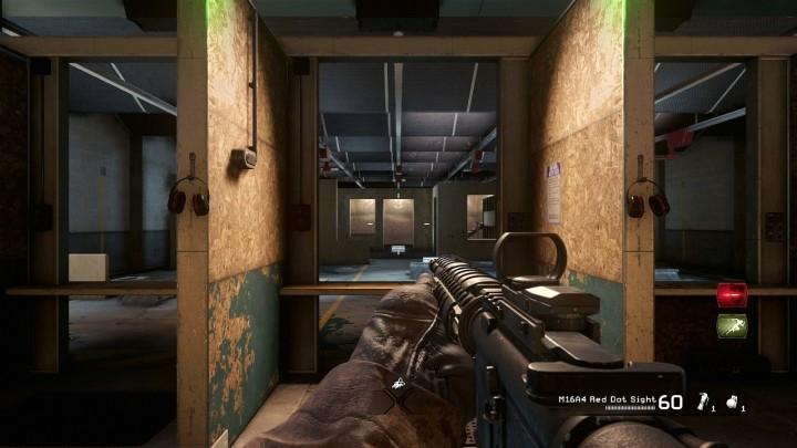 CoD:MWR:マルチプレイに「射撃場」の存在を確認