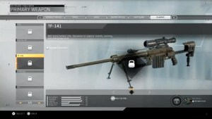 CoD:IW:クラシック武器は全10種、Intervention、UMP、ARX-160、SPAS 12、M1の復活確定