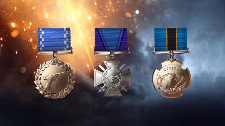 BF1:メダルシステムの概要公開、自由に選んでアンロック
