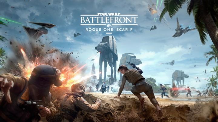 Star Wars バトルフロント:4種のマップを含む拡張パック「ローグワン: スカリフ」は12月6日公開、映画と連動