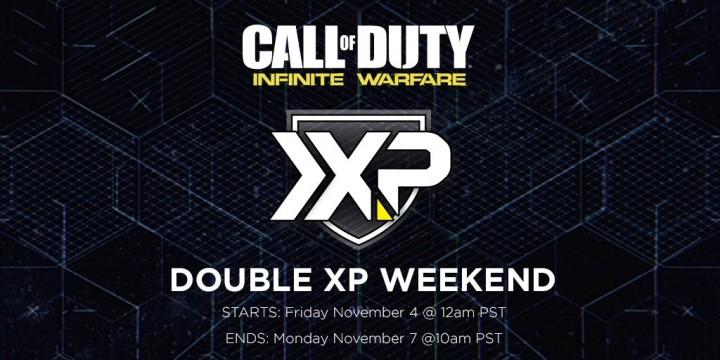 CoD:IW:初のダブルXP(経験値2倍)、11月5日17時開始