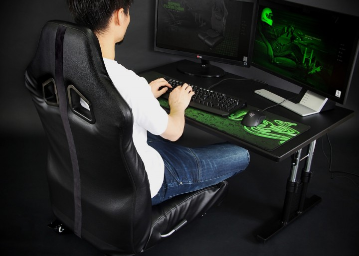 ロースタイルでも快適なプレイを可能にする「ゲーミング座椅子」が予約受付中
