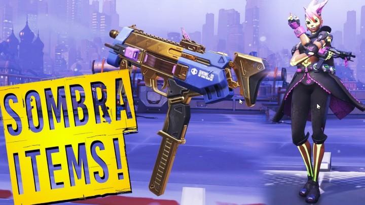 オーバーウォッチ: 新ヒーロー「ソンブラ(Sombra)」の全スキンや勝利ポーズ、イントロ、スプレーなど