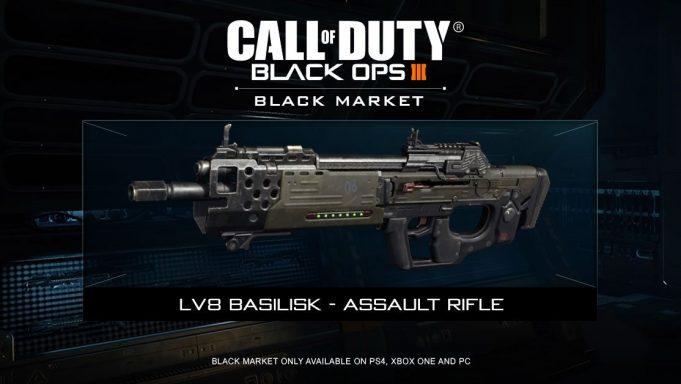 CoD:BO3: SMG、AR、近接の3種の新武器追加やスペシャリストギアが追加