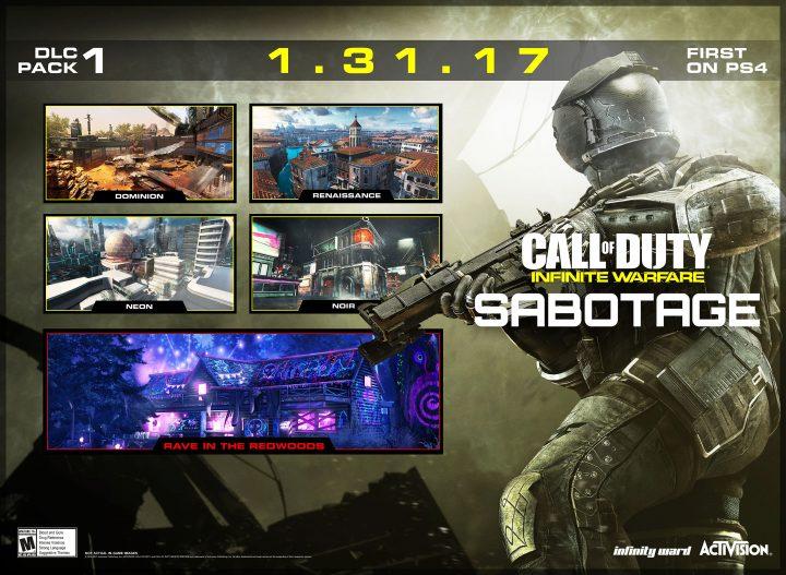 CoD:IW:第1弾DLC「SABOTAGE」は1月31日配信、日本語版トレーラー公開