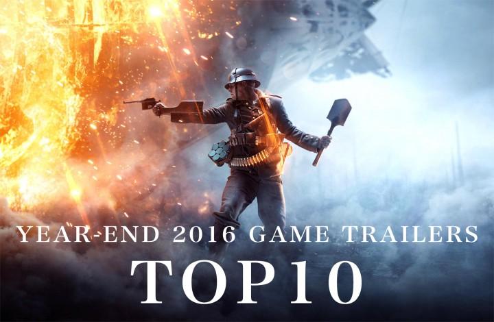 YouTube:2016年のゲームトレーラー再生数TOP10発表、1位2位をFPSが独占