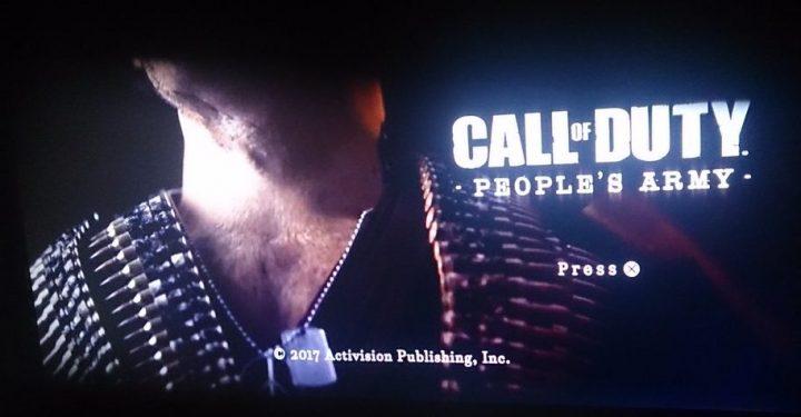 噂:CoD 2017は『Call of Duty: People's Army』? メニューや兵士を撮影した自称リーク画像&映像が登場