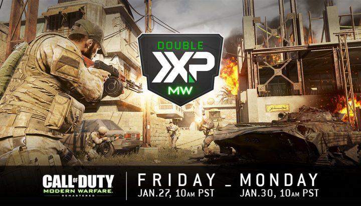 CoD:MWR: ダブルXPと新Weekend Warfereを間もなく開催