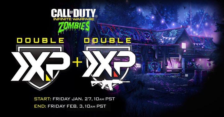 CoD:IW: ゾンビモードのダブルXPと武器ダブルXP同時開催、こちらもたっぷり一週間