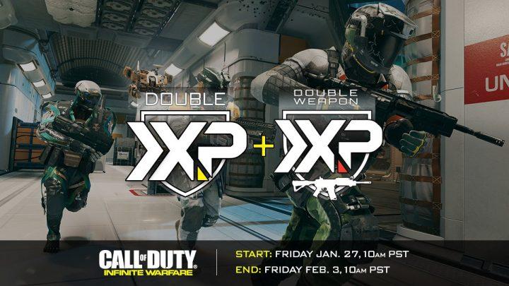 CoD:IW: ダブルXPと武器ダブルXPを同時開催、一週間のロングスパン
