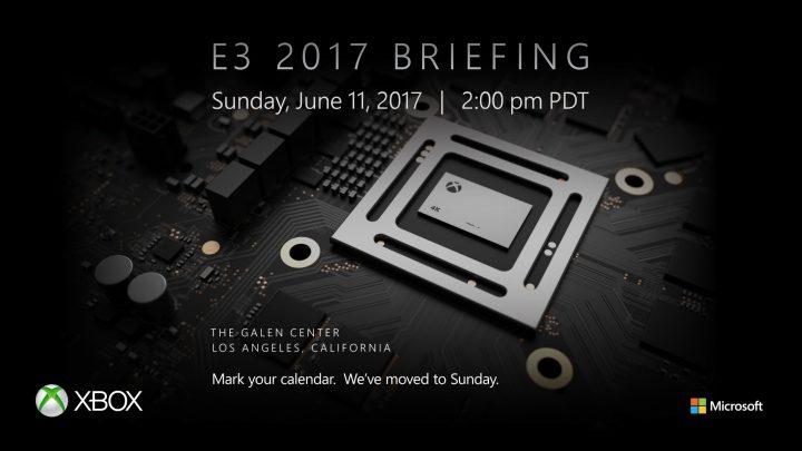 新型Xbox「Project Scorpio」のお披露目? MicrosoftがE3カンファレンス2017の開催日を発表、ファンイベントも開催決定