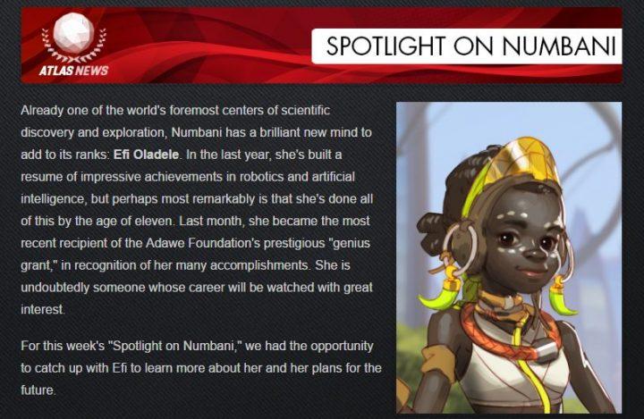 オーバーウォッチ:謎の天才少女「エフィ・オラデレ」への架空インタビューが掲載、次のヒーローはロボット?
