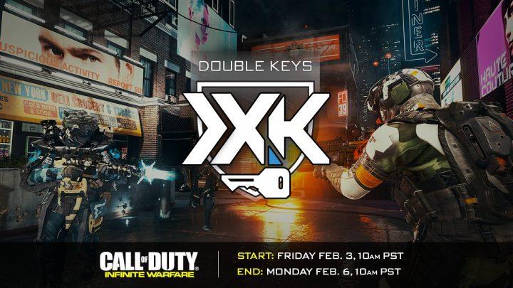 CoD:IW:キーの獲得が2倍になる「ダブルキー」イベントが初開催、2月4日から(PS4/X1)