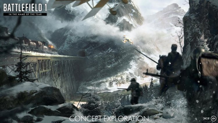 "BF1: ""They Shall Not Pass""に続く3つの拡張パックの概要公開 、コンセプトは「雪」「海」「地獄」?"