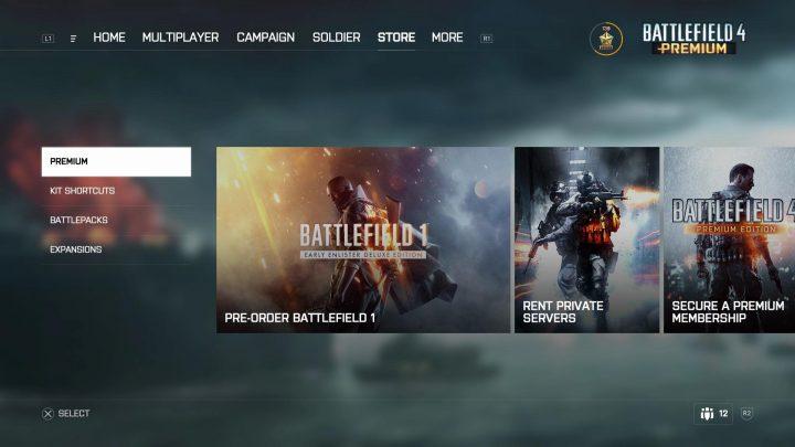 BF4: PC版『Battlefield 4』向けの新ユーザーインターフェイスは2017年春に導入