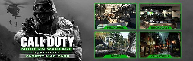 CoD:MWR:国内でも「Call of Duty: MWR バラエティマップパック」配信決定、マップ4種を同梱し3月22日から開始