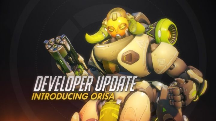 オーバーウォッチ:24番目の新ヒーローは4本足の女性型タンクロボット「Orisa(オリーサ)」、紹介映像公開