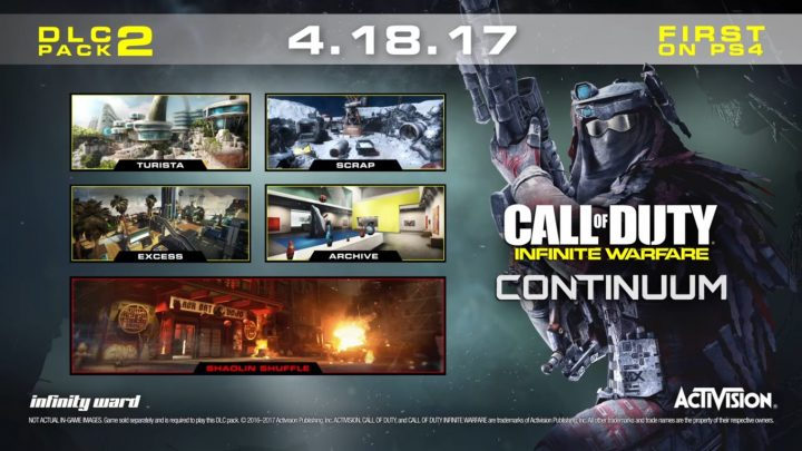 CoD:IW:第2弾DLC「Continuum」の国内配信日が4月19日に決定、日本版トレーラー公開
