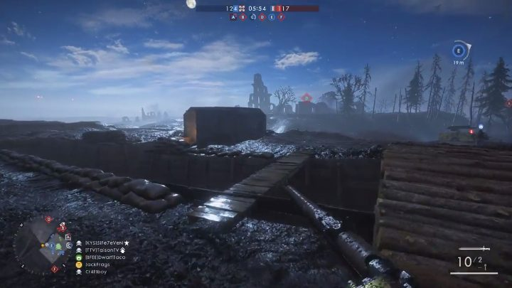 BF1:夜マップ「Nivelle Nights」のプレイ映像が早速公開、月明かりに照らされた塹壕マップ