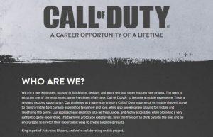 CoDモバイル: キャンディークラッシュのKingが『Call of Duty』のモバイルゲームを開発中 「オリジナルに忠実で気軽に長く楽しめるゲーム」