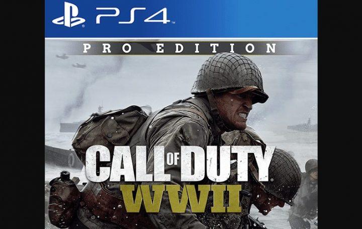 CoD:WWII:3種のエディション「ベース、デジタルデラックス、プロ」の概要