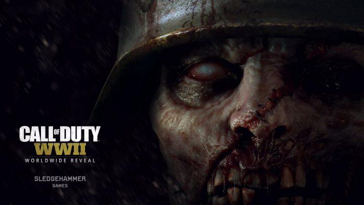 CoD:WWII: 内臓? ゾンビモードのグロテスクな新イメージ2枚公開