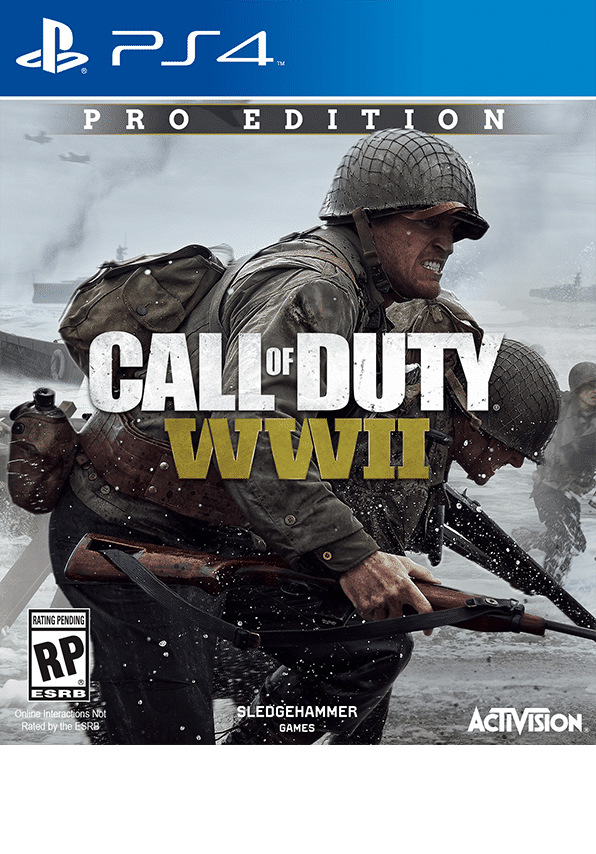 cod wwii ps4 pro edition