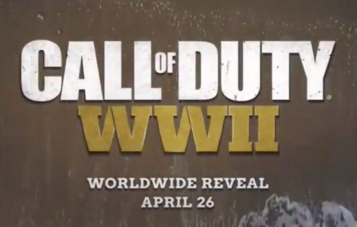 CoD:WW2: ティザー映像広告が配信開始、4月27日のお披露目を告知