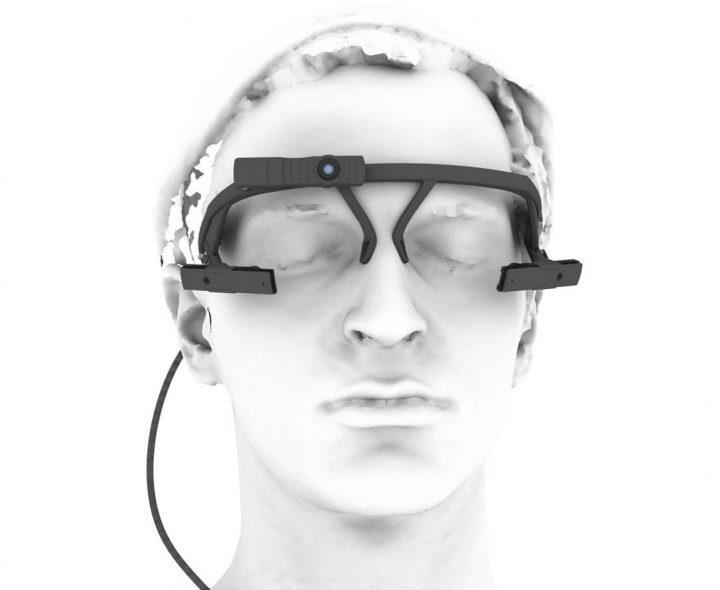 Pupil Labosの両眼用トラッキングデバイス