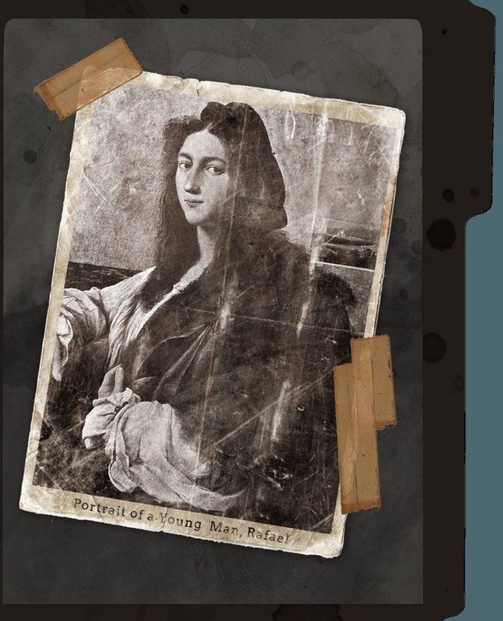 wwii ラファエロ 若い男の肖像