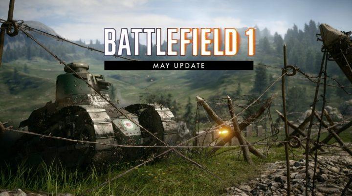 BF1:「5月のアップデート」のパッチノート公開、銃剣突撃弱体化やビークルへの多数の調整など