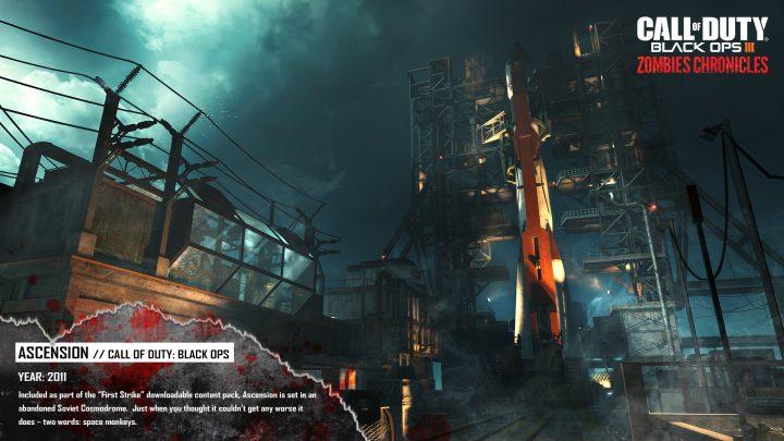 "CoD:BO3:""Zombies Chronicles""でリメイクされる初代『BO』マップ「Ascension」の比較動画&画像"